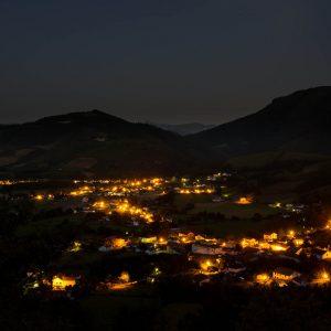 Saint-Martin d'Arrossa la nuit