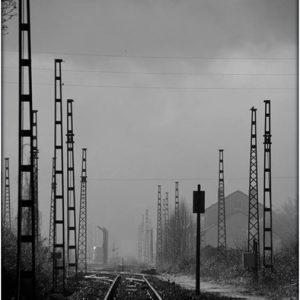 Chemin de fer avant travaux - St Martin d'Arrossa